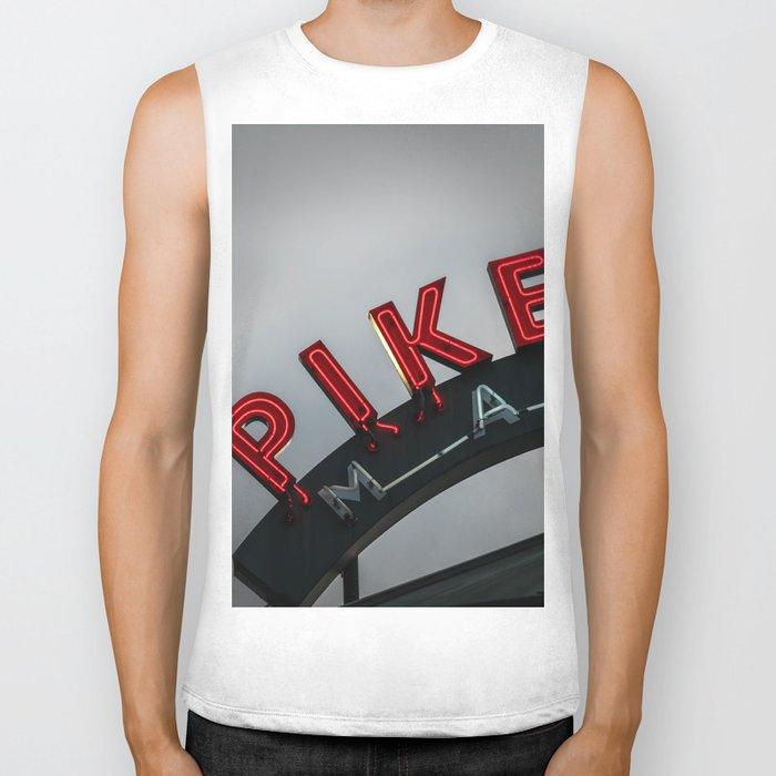 Pike Place Morning Biker Tank