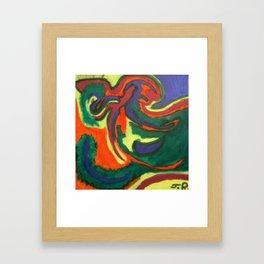 Chris's Aura Framed Art Print