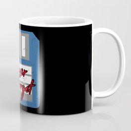 Never Forget   Retro Floppy Disk Coffee Mug