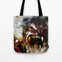 gorilla Tote Bags featuring Gorilla by Ed Pires