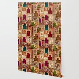 Medley of Rugs Wallpaper