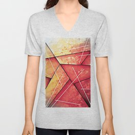 Abstract Art Britto - QB287 Unisex V-Neck
