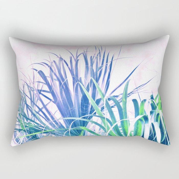 Pastel Palms Rectangular Pillow