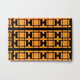 Street patterns Metal Print