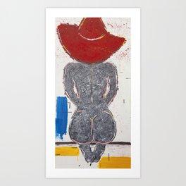 La Chapeau Rouge Art Print