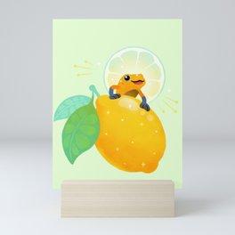 Golden poison lemon sherbet 1 Mini Art Print