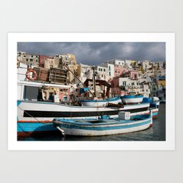 Procida Marina Art Print