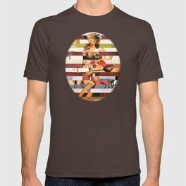 Glitch Pin-Up Redux: Britney T-shirt