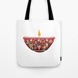 Ignite The Light 3 Tote Bag