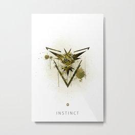 Team Instinct - Pokemon Metal Print