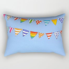 Banners in the sky Rectangular Pillow