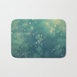 Deep Blue Bath Mat