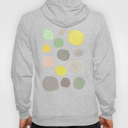 Abstract Multi-colored Circles Hoody
