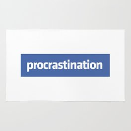 Procrastination Rug