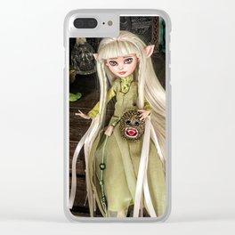 Kira custom Doll Clear iPhone Case