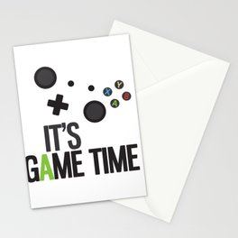 It's Game Time Stationery Cards