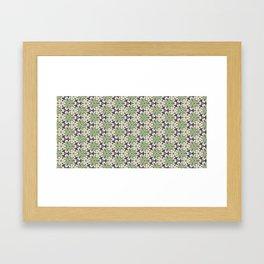 Triaxial Tessellated Turnips w/Purple smallscale Framed Art Print