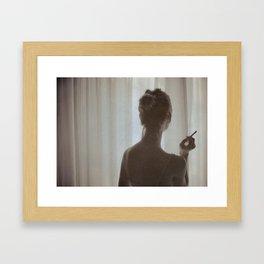 Last Night Framed Art Print