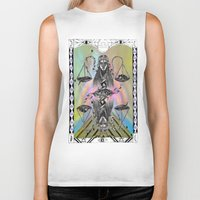 libra Biker Tanks featuring LIBRA by Caroline Vitelli GOODIES