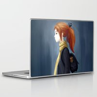 backpack Laptop & iPad Skins featuring Rainy Days by Freeminds