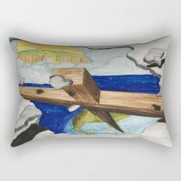 Break Out Rectangular Pillow
