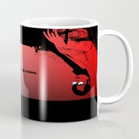 stephen king Mugs featuring Stephen King Rules by Hazel Bellhop