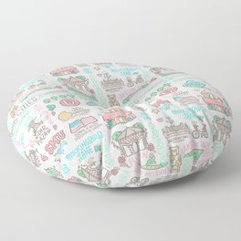 Park Cities Floor Pillow