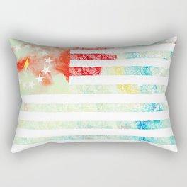 American Revolution Flag Rectangular Pillow