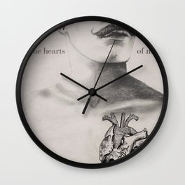 In the Heart of Men Wall Clock