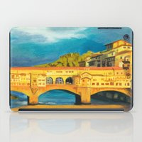 florence iPad Cases featuring Florence by Sara Clarke