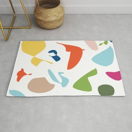Vintage abstract Rug