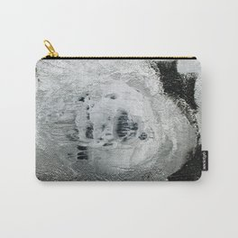 face texture white Carry-All Pouch