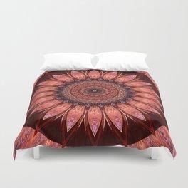 Mandala mystic flower Duvet Cover