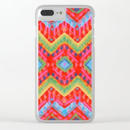 itzel - multi Clear iPhone Case