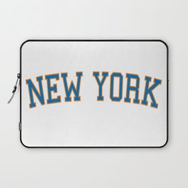 New York Sports College Font Laptop Sleeve