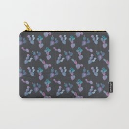 Prickly Pear in Purple Carry-All Pouch