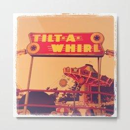 Tilt-A-Whirl Metal Print