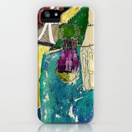 Tourism of the future iPhone Case