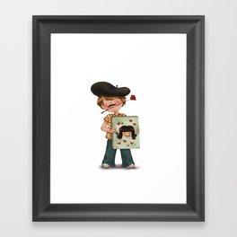 Amore Framed Art Print
