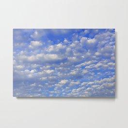 Lots of tiny clouds. Metal Print