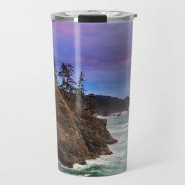 Thunder Rock Cove Sunset Travel Mug