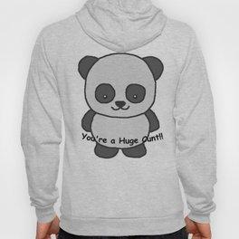 Panda says you're a huge cunt Hoody