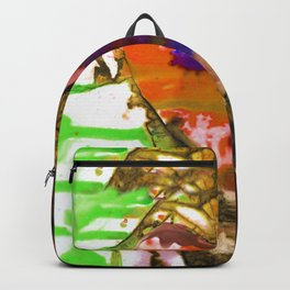 Eternal Heart No. 13G by Kathy Morton Stanion Backpack
