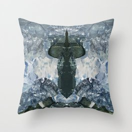 crystaux Throw Pillow
