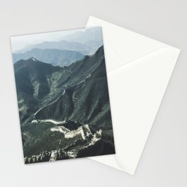 The Great Wall of China I Stationery Cards