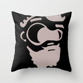 El Barbon Throw Pillow