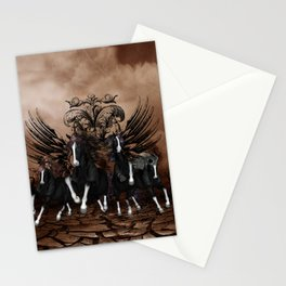 Awesome wild horses Stationery Cards