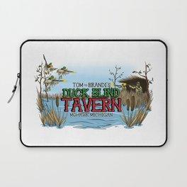 Tom and Brandi's Duck Blind Tavern, Mohawk, Michigan, Version II Laptop Sleeve