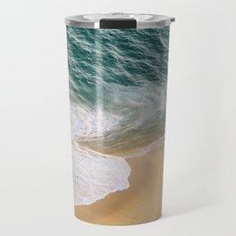 Ocean Swirl Travel Mug