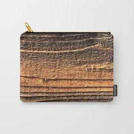 Luxurious Wood Grain Log Close-Up Fine Art Photo Carry-All Pouch